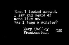 Mary Shelley/Frankenstein