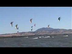 Kiteboard Racing the Delta