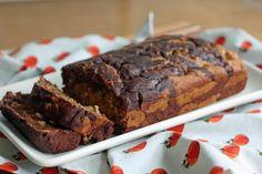 Fresh Recipes | Marbled Pumpkin Chocolate Banana Bread