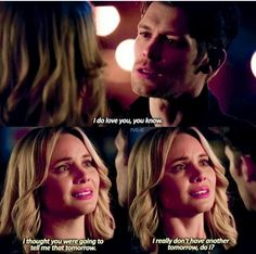 Klaus and cami 3x19