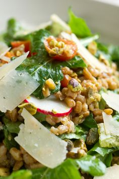 There are two essential steps to a stellar farro salad The first is cooking the farro with enough salt and aromatics so that it delicious before you combine it with the rest of the ingredients The second is to use very good olive oil in the dressing