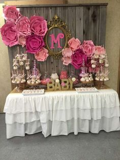 It's a girl Baby Shower Party Ideas | Photo 6 of 13 | Catch My Party
