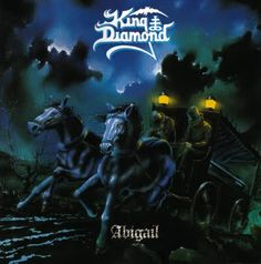 King Diamond - Abigail 33 rpm, 1987 Roadrunner Records / RR 9622 / USA