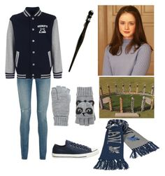 """""""Beatrice Granger  Gryffindor Quidditch match"""" by fashionablehottie25 on Polyvore featuring Yves Saint Laurent, Topshop and Accessorize"""
