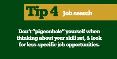 Colorado State University's Chase Weldon offers five helpful tips for new grads applying for jobs.