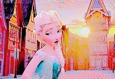 ❤️❄️Frozen fever❄️❤️<< looks like the little girls from tangled who braid rapunzels hair