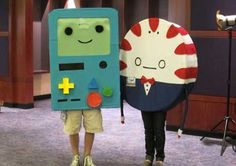 BMO and Peppermint Butler