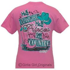 Girlie Girl Originals Funny All Country Bright T Shirt | SimplyCuteTees