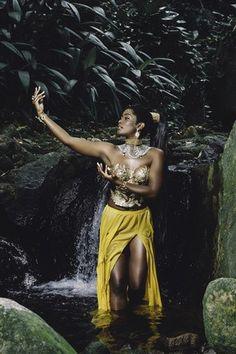 black women models from the Oshun Goddess, Orishas Yoruba, Yoruba Religion, African Models, Black Image, Afro Art, My Black Is Beautiful, Dope Art, African Beauty
