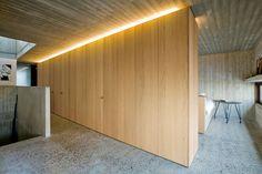 ADAGIO - Construction wood panel / for interior by Decospan Veneer Panels, Flooring Store, Architectural Materials, Wood Paneling, Oak Panels, Interior Design Trends, Oak Doors, Oak, Interior Design