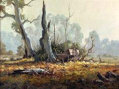 Paintings - Ivars Jansons - Page 9 - Australian Art Auction Records Landscape Pencil Drawings, Landscape Art, Landscape Paintings, Australian Painting, Australian Artists, Art Aquarelle, Watercolor Art, Art And Illustration, Royal Art