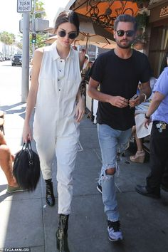 Hanging! Kendall Jenner and Scott Disick spent their day on Saturday shopping and grabbing lunch together in Beverly Hills