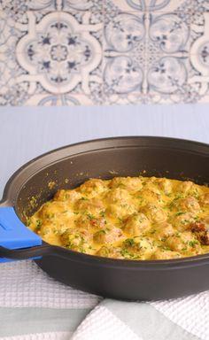 Blog de cocina con recetas rápidas y de fácil elaboración. Carne Picada, Albondigas, Macaroni And Cheese, Meat, Ethnic Recipes, Food, Gastronomia, Chicken Balls, Chicken Curry