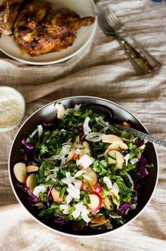 Fresh Coleslaw Recipe - via The Perfect Pantry
