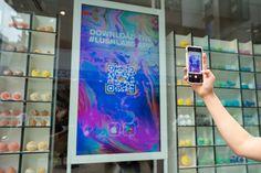 'Shoppable windows' at Lush in Tokyo