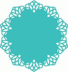 Silhouette Online Store: doily lace decoration