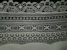 Lace on table cloth