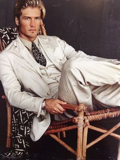 Bruce Weber for Ralph Lauren (Leif Stacey) Ralph Lauren Style, Polo Ralph Lauren, Bruce Weber, Blonde Guys, Sharp Dressed Man, Gentleman Style, Preppy Style, Gorgeous Men, Male Models