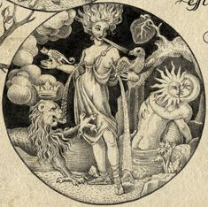 The Alchemyst (emblemata depicting stages of alchemical work) by Sveta Dorosheva, Israel