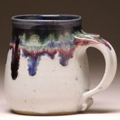 Handcrafted Pottery Mug by Beth Mangum in Asheville, North Carolina