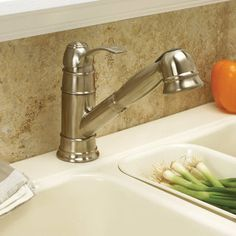 Wellington 120440 Pull-out Brushed Nickel Kitchen Faucet