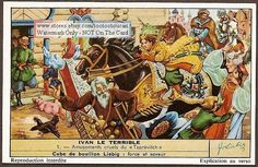 Ivan The Terrible Russian Tsar - 6 Nice c50 Y/O  Cards