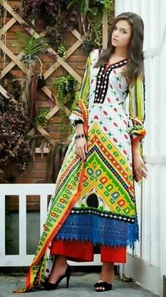 Spring Lawn Collection 2014 by Gul Ahmad