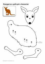 Kangaroo project for kids art pinterest for kids for Kangaroo puppet template