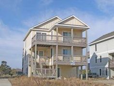 Comfortable and attractive Nags Head home, just across the street from the beach! Sit back and enjoy the views, you can see Jockeys Ridge to the ...
