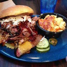 Must eats NYC. Have ticked off a few. Pulled pork from Dinosaur Bar-B-Que:
