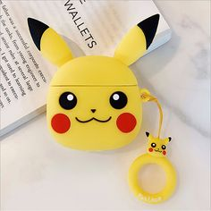 Pikachu Pocket Monsters Cartoon cute soft silicone case Airpods Case Earphones Headphone Stand Phone Cases Cover Clear Apple Airpod Pro Airpod Pro, Monsters, Pikachu, Phone Cases, Apple, Cartoon, Pocket, Cover, Handmade