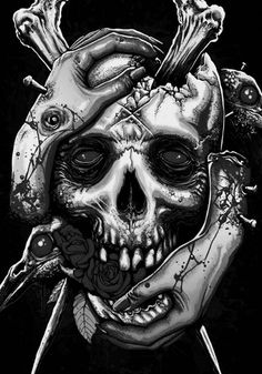 skeleton watches under 500 Arte Horror, Horror Art, Totenkopf Tattoos, Skeleton Watches, Skulls And Roses, Skull Tattoos, Sleeve Tattoos, Grim Reaper, Art Plastique