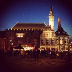 Haarlem - Grote Markt - Earth Hour