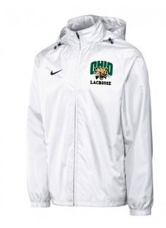 Ohio University Lacrosse Team Gear, Lacrosse, Ohio, Rain Jacket, Windbreaker, University, Coat, Jackets, Down Jackets