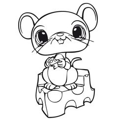 free littlest pet shop coloring pages | Littlest Pet Shop Dog Coloring Pages | cute lps Dog ...