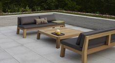 De Niek high couch behoort tot de exclusieve meubelcollectie van Piet Boon. Zijn liefde voor natuurlijke, eerlijke materialen en een sobere, stoere vormgeving vormen de basis van zijn meubelcollectie. Voorwaarden voor zijn collectie zijn: tijdloos, duurzaam en een vormgeving gericht op comfort en gemak. De Niek high couch is gemaakt van massief Iroko hout en combineert prachtig met de bijpassende Anne tafels. De outdoor-collectie van Piet Boon is volledig weersbestendig met een ... Outdoor Couch, Outdoor Decor, Dining Bench, Outdoor Furniture Sets, Lounge, Sofa, Chair, Projects, Balconies