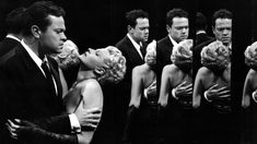 "Orson Welles and Rita Hayworth in the climax to ""The Lady From Shanghai"" (1948). Description from nytimes.com. I searched for this on bing.com/images"