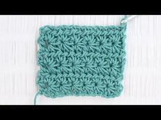 Fan Tail Stitch (Crochet Stitch Sampler Baby Blanket Video #4) - YouTube