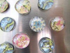 mod podge magnets crafts