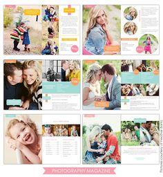 Photography Digital Magazine | Essential | Photoshop templates for photographers by Birdesign - ideas for marketing
