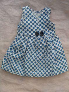 BLEUETTE-Robe-a-pois-bleus-fabrication-originale-Gautier-Languereau