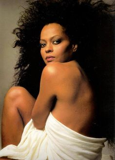 Diana Ross. Vanity Fair Cover by Herb Ritts.