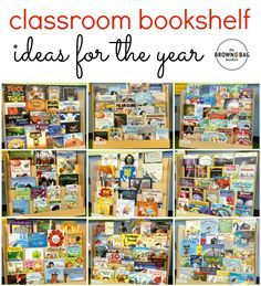 Classroom Library Themes for and Grade. Perfect for building reading motivation. Plus, GREAT ideas for organizing a classroom library! Library Themes, Library Book Displays, Class Library, Book Display Shelf, Library Books, Children's Books, First Grade Classroom, Primary Classroom, Classroom Ideas