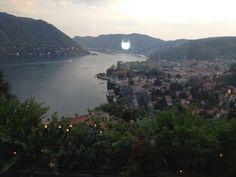 Il Gato Nero, Cernobbio, Lake Como~ my favorite restaurant in the world.