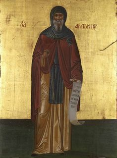 Saint Anthony the Great was the first known ascetic going into the wilderness, about A.D. 270, and was a leader of the Desert Fathers in Egypt.