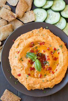 Fit In Hub - Stufa del solito pranzo noioso? Hummus pomodoro e basilico