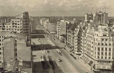 1942 Central And Eastern Europe, Bucharest Romania, Timeline Photos, World War Two, Time Travel, New York Skyline, Times Square, Buildings, City
