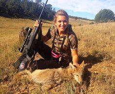 Coyote hunting - Eva Shockey
