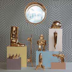 Seletti Memorabilia Gold My Crown | Jane Richards Interiors