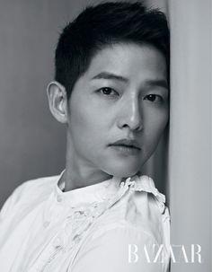 Song Joong Ki - Harper's Bazaar Magazine July Issue Song Joong, Song Hye Kyo, Asian Actors, Korean Actors, Korean Men, Descendants, Soon Joong Ki, Sungkyunkwan Scandal, A Werewolf Boy